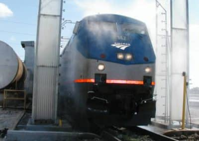 Amtrak Train Wash Systems