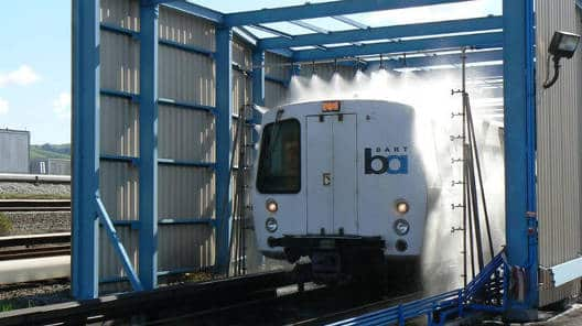 Bart Rail Train Wash Systems