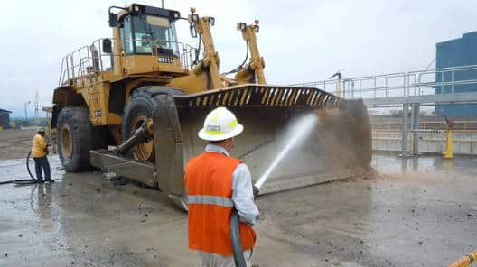 Bulldozer Wash Hose