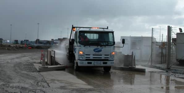 truck on Sentinel