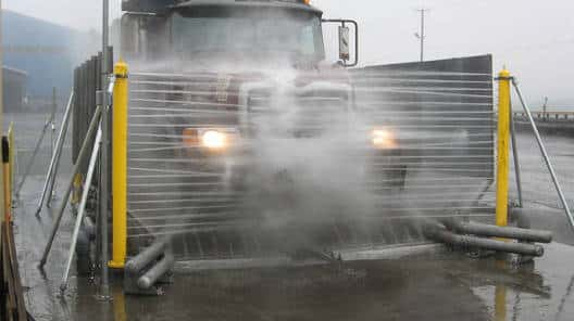 Dump Truck Chassis Wash