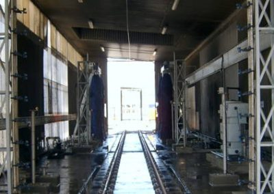 KiwiRail Train Wash