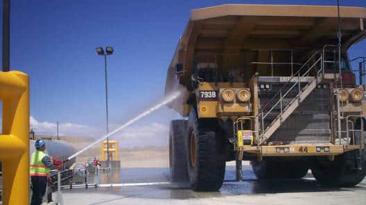 Haul Truck Manual Wash