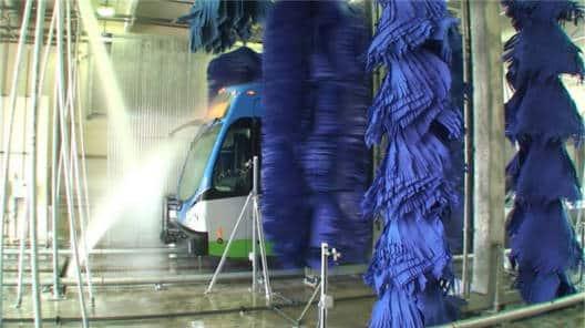 Hybrid Bus Wash