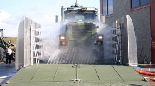 Mobile Military Wash