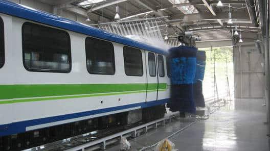 Yongin Front Train Wash Korea