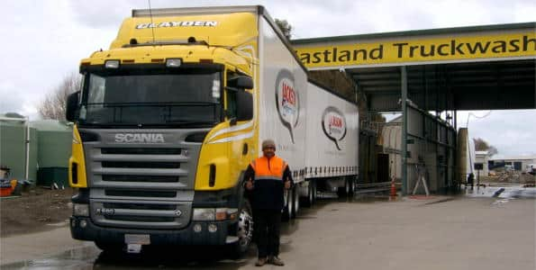 Eastland Commercial Truck Wash System