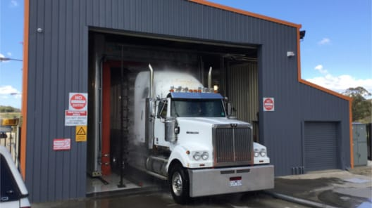 The Wash Inn, Lavington Truck Wash, Lavington NSW