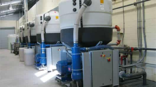 Cyclonic Water Recycling Module