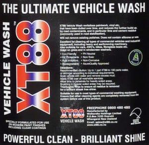 XT88 Quality Vehicle Wash