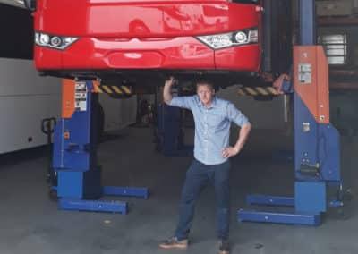 Workshop Bus Hoists