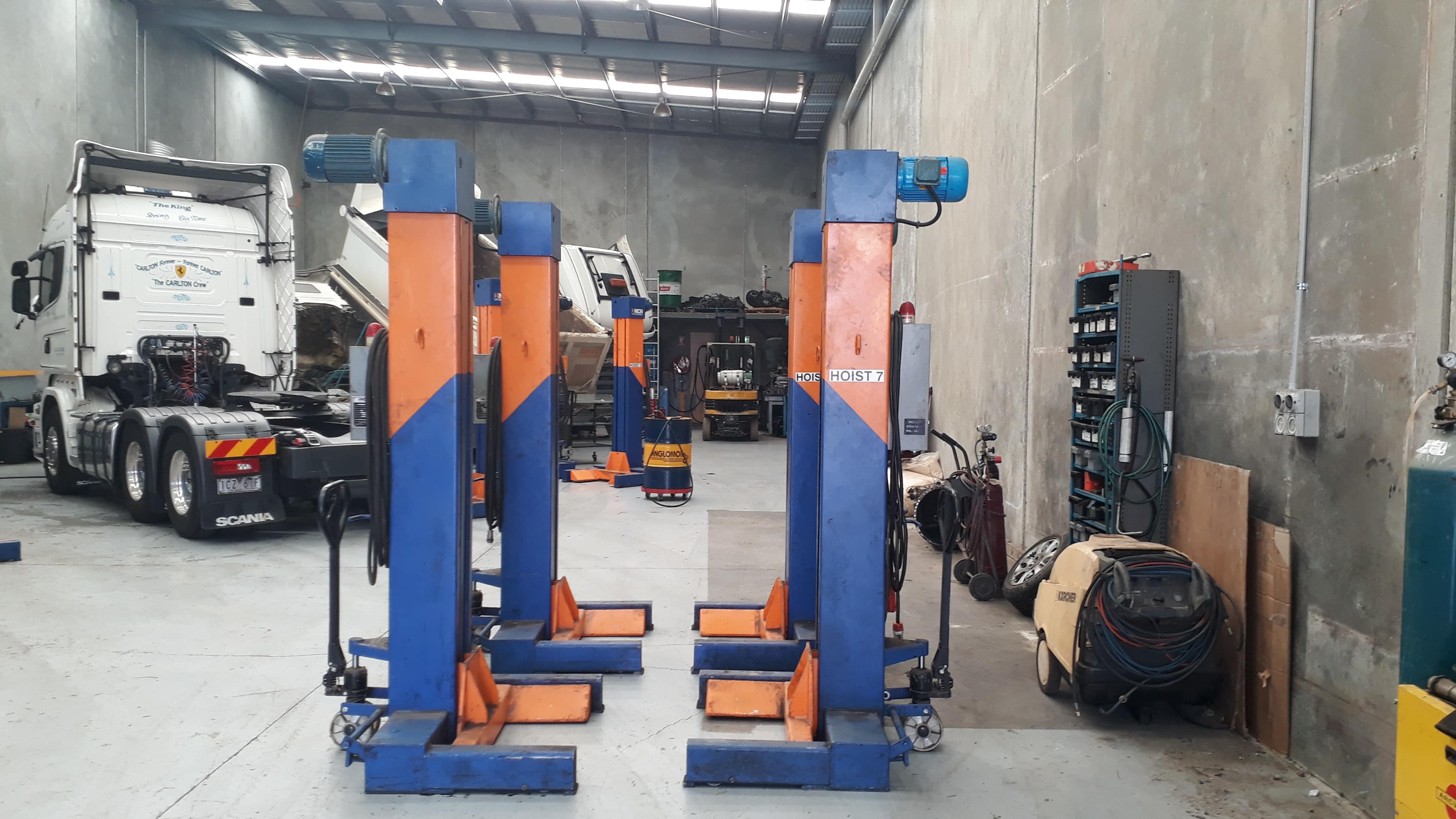 3 Phase Workshop Hoists
