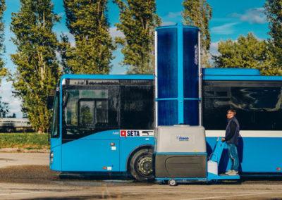 Ride On Bus Wash Machine