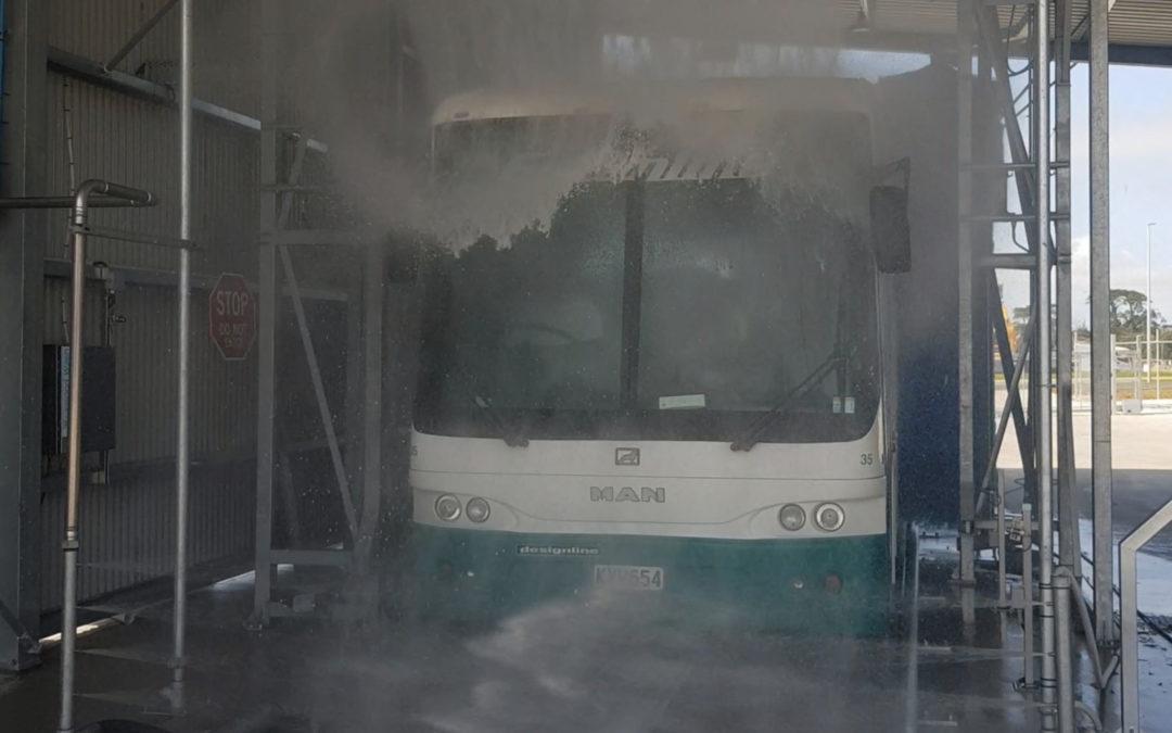 Fretwells Drivethrough Bus Wash