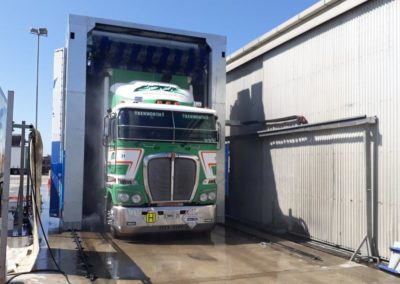 Emmerson Transport Automated Truckwash