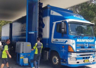 Mainfreight Mobile Truck Wash