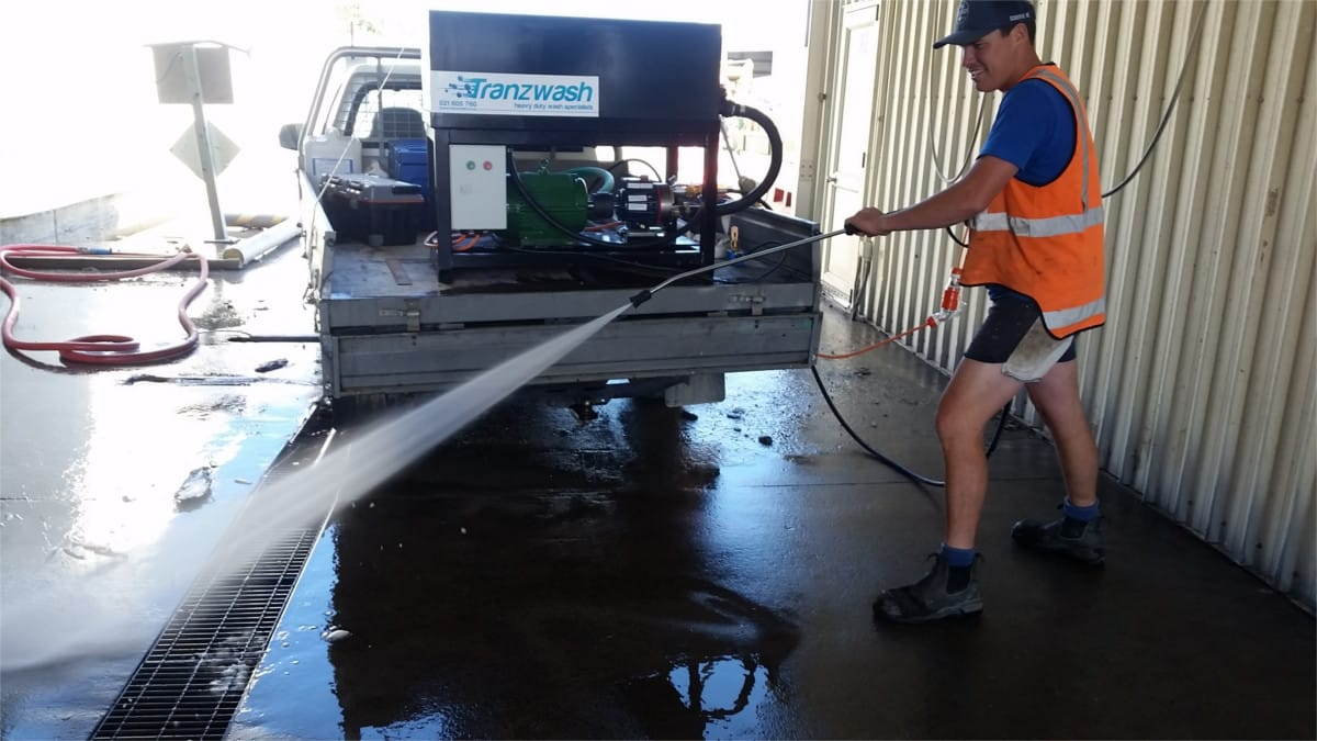 Water Recycling Waterblaster