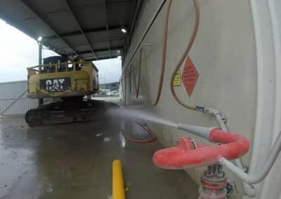 Washing Heavy Machinery