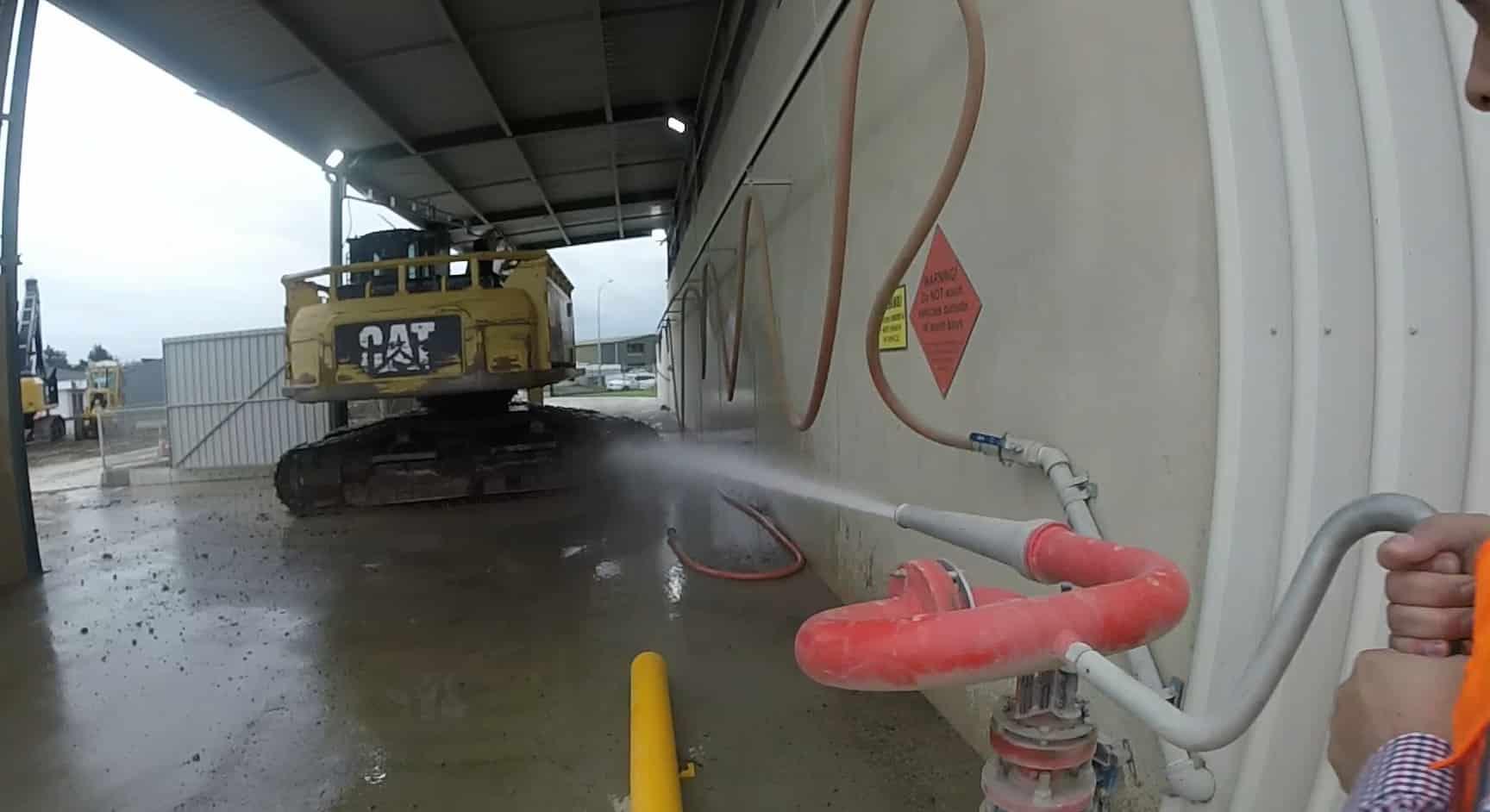 Washing Digger