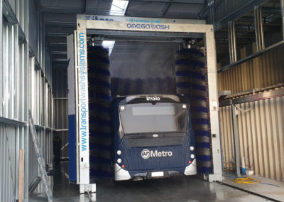 Ritchies Coaches Gantry/Rollover Bus Wash