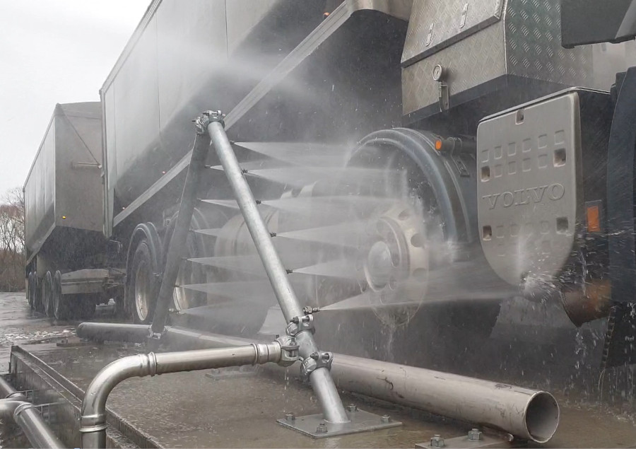 Truck Chassis Wash