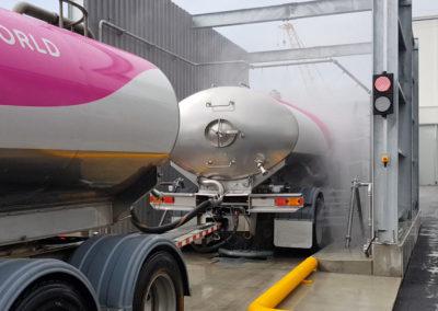 Milk Tanker Wash