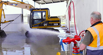 Military Wash Systems
