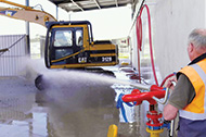Manual Mining Vehicle Wash System