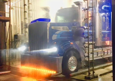 Truck disinfect